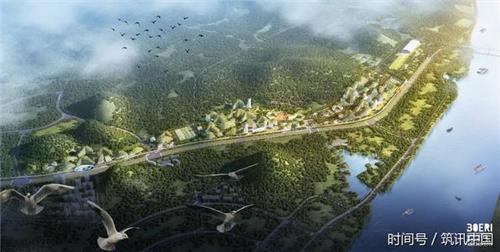 首个垂直森林城市在广西柳州开建