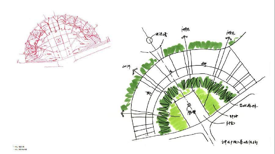 """用""""手绘草图""""阐释景观创作的创意与灵感 《景观创作——草图与构思》"""