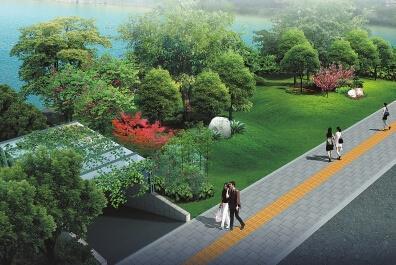悦江园位于乐山城区通悦路与滨江路北段交接处的三角形地带,为北面